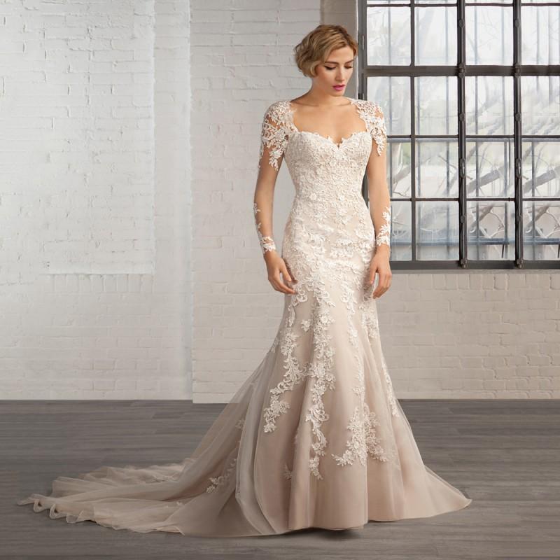 champagne mermaid wedding dresses wwwimgkidcom the
