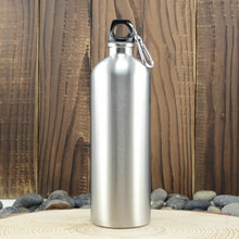 1000ml microstomia stainless steel water bottle 1 large capacity sports bottle outdoor(China (Mainland))
