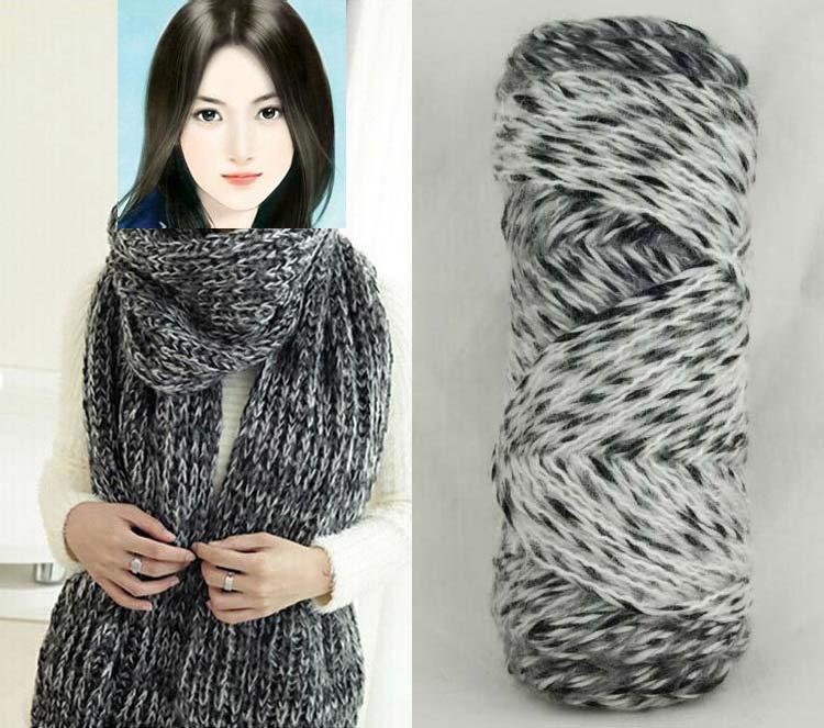 Нитки для вязания зимнего шарфа