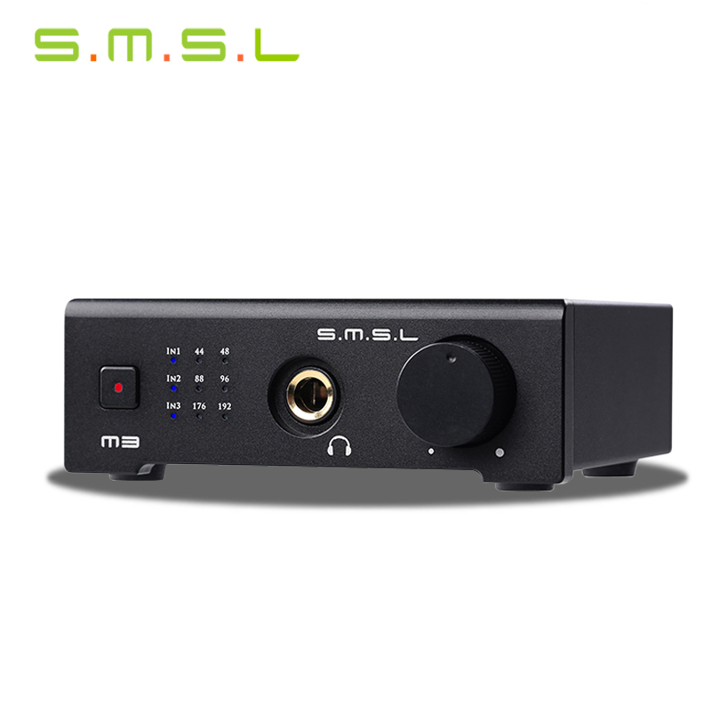NEW SMSL M3 USB Hd For Audio Decoder Interface Hifi Exquis 24bit/192kHz Dac With Optical Coaxial Headphone Analog Outputs<br><br>Aliexpress