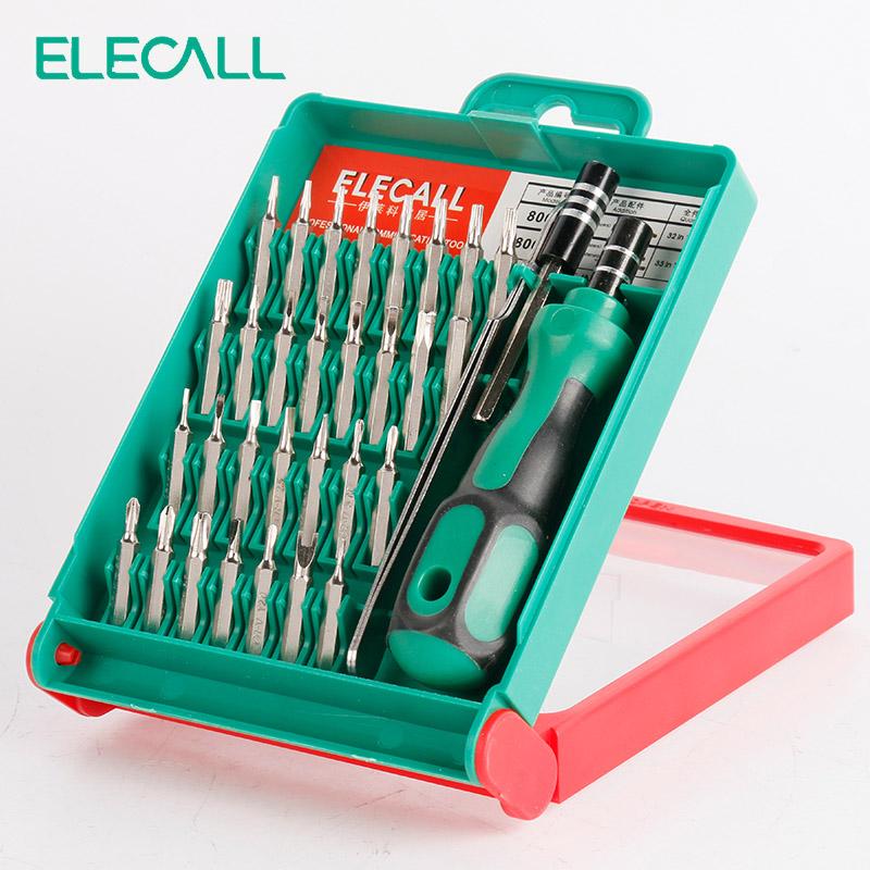 33 in 1 screwdriver set interchangable torx tweezer extension repair tool kit. Black Bedroom Furniture Sets. Home Design Ideas