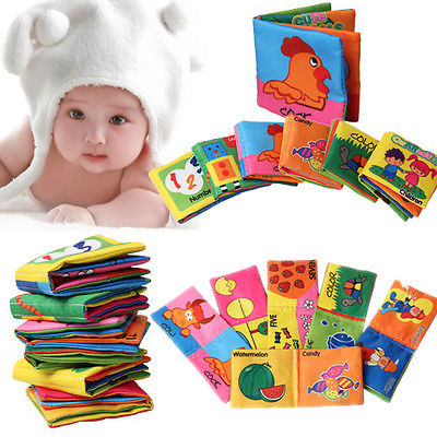 Intelligence development Cloth Cognize Book Educational Toy for Kid Baby
