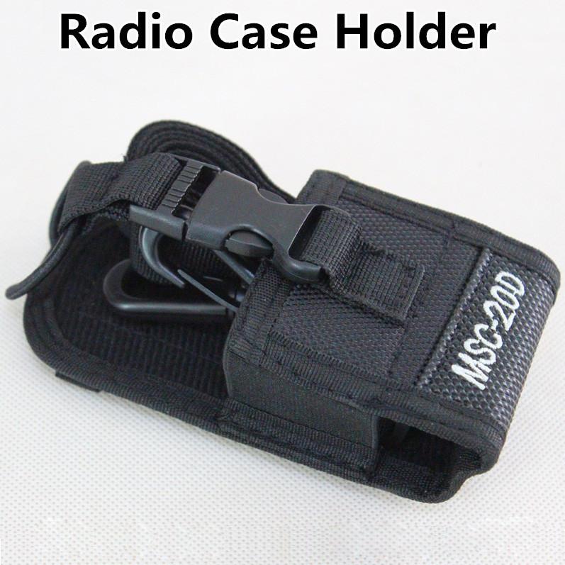 Нейлон мягкий чехол MSC-20D чехол держатель для BaoFeng уф-5r уф-5ra уф-5rb уф-5rc UV-5RE + плюс UV-B5 уф-b6 BF-888S радио