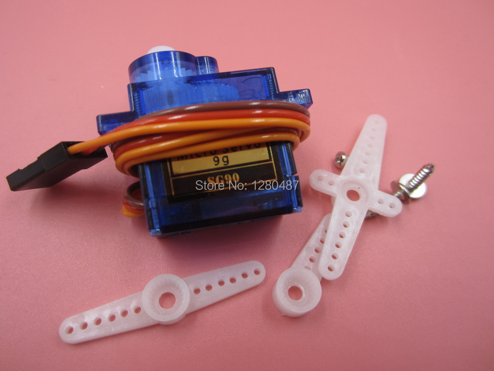 Free Shipping 1PCS/LOT SG90 9g Mini Micro Servo for RC for RC 250 450 Helicopter Airplane Car(China (Mainland))