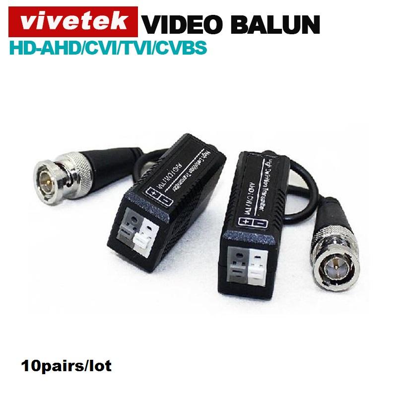 10pairs/lot video balun compitable for AHD/HDCVI/HDTVI Twisted BNC CCTV Video Balun UTP Balun BNC Cat5 CCTV UTP Video Balun(China (Mainland))
