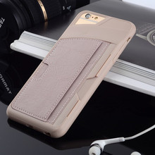 2015 New Arrival Phone Case For iPhone 6 Plus 5 5 Cover With Card Holder Stand