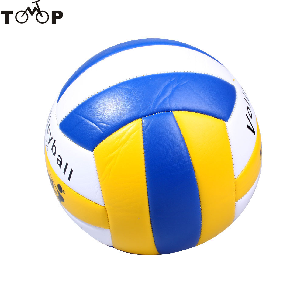 New Official Size 5 PVC PU Leather Volleyball Match Volleyball Indoor Outdoor Training Ball Match Volleyball Ball Voleibol(China (Mainland))