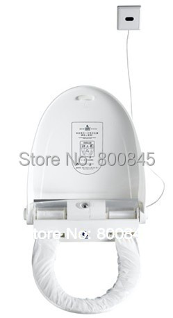 Automatic hygienic toilet cover,intelligent toilet cover,hygienic toilet cover,automatic changing toilet cover(China (Mainland))