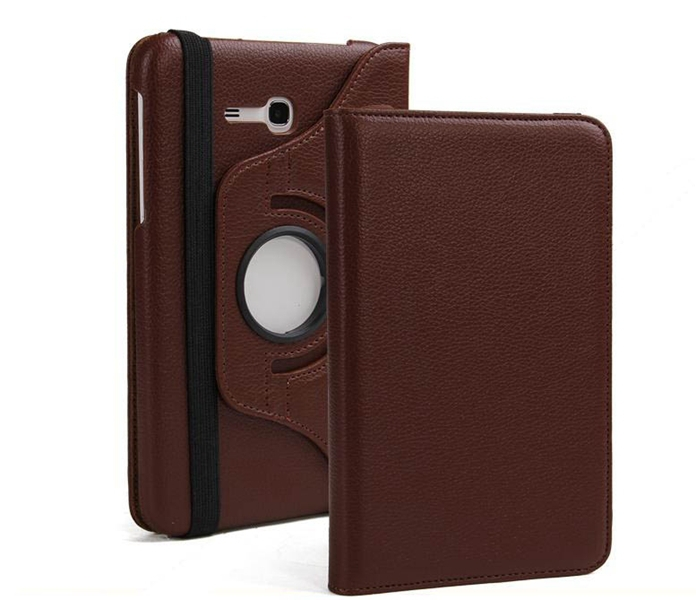 1Pc 360 Rotating PU Leather Stand Case Cover For Samsung Galaxy Tab 3 Lite 7 0