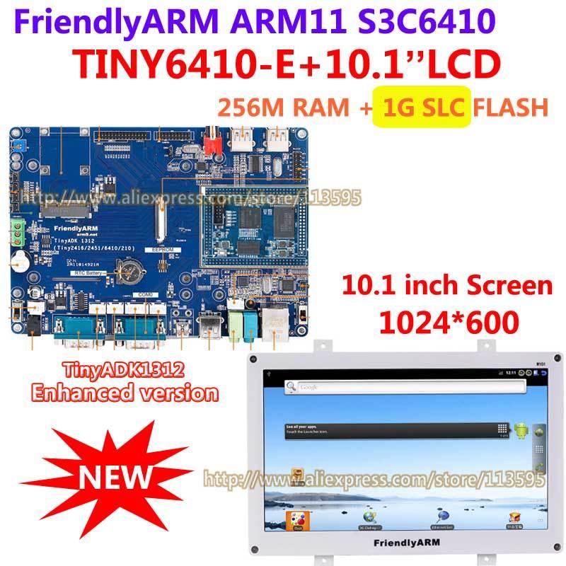 FriendlyARM S3C6410 , Enhanced Version TINY6410 SDK1312 +10.1 inch TFT touch Screen 256M RAM + 1G Flash ARM11 Development Board(China (Mainland))