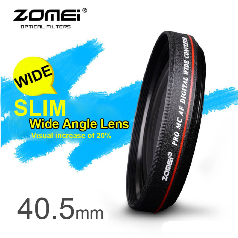 ZOMEI Ultra Slim 40.5mm 0.45x Wide Angle Filter Lens for Nikon Camera<br><br>Aliexpress