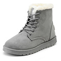 2016 New Warm Winter Boots For Women Ankle Boots Waterproof Snow Girls Boots Female Shoes Suede