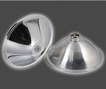 NOZQ-140 HID Reflective Cup, Xenon lamp reflector cup, Size: 140X60mm, Angle: 4 deg, Materials: Aluminum, Match: H3 Xenon lamp(China (Mainland))