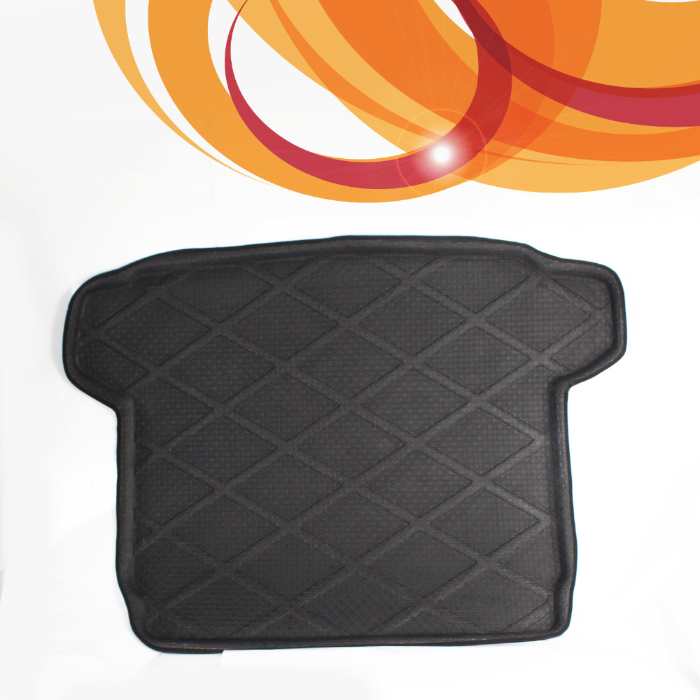 3D Black Waterproof All Weather For Citroen C5 Before 2015 Rear Car Auto Truck Cargo Mat Tray Liner