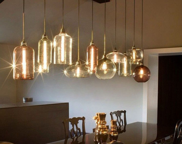 New Modern Color Glass Ball Ceiling Light Lighting Pendant Lamp Contemporary