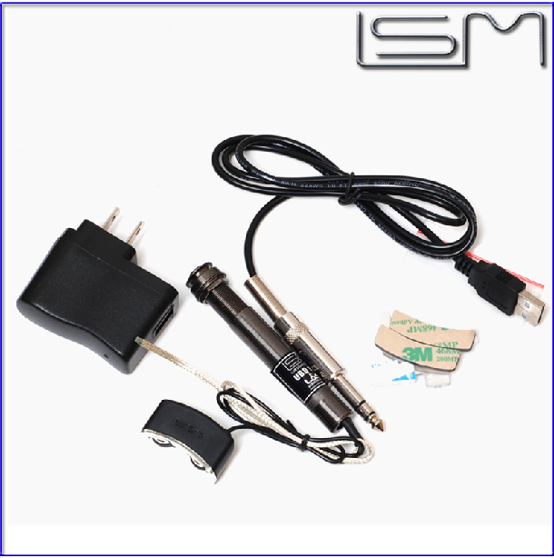 LSM UBQ125 Guitar Pickup Ukulele Piezo Electric Acoustic Preamp Small Light Accessories - Sinye Musical Instruments Store store