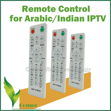 New arrival IPTV Remote Control for Arabic / Indian IPTV Box, IPTV Remote for IPTV Box with Arabic / Indian Channels