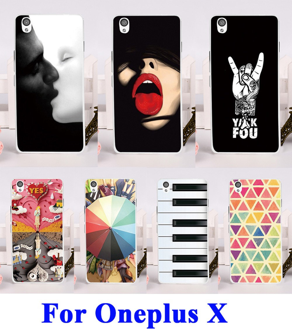 Hard Plastic Phone Cases capinha para For OnePlus X One Plus X Case Back Protection Cover sexy lips(China (Mainland))