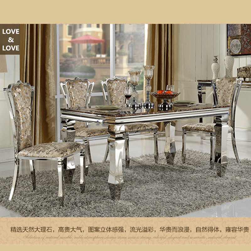 stainless steel material and dining table specific use