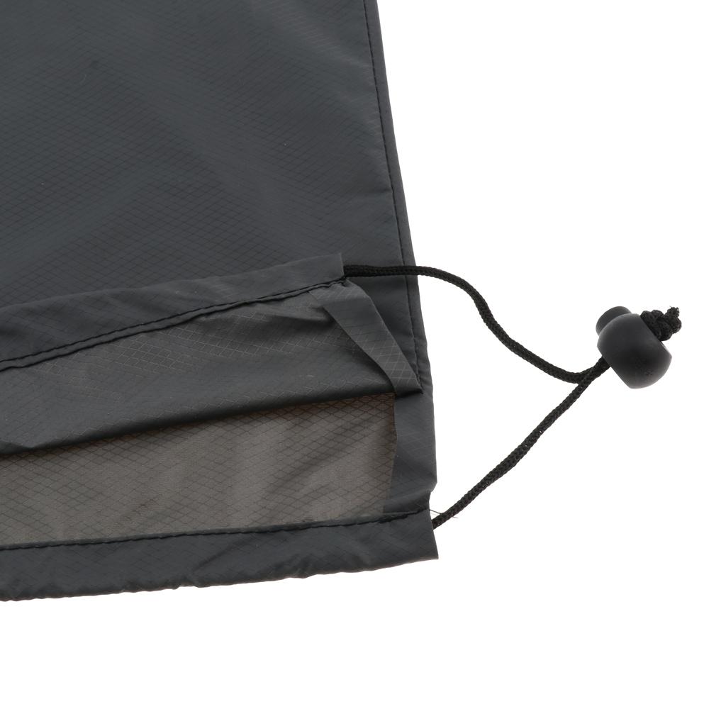 2pcs Sleeping Pad Yoga Mat Dustproof Waterproof Storage Bag Large Drawstring Stuff Sack for Outdoor Camping Hiking Travel Beach