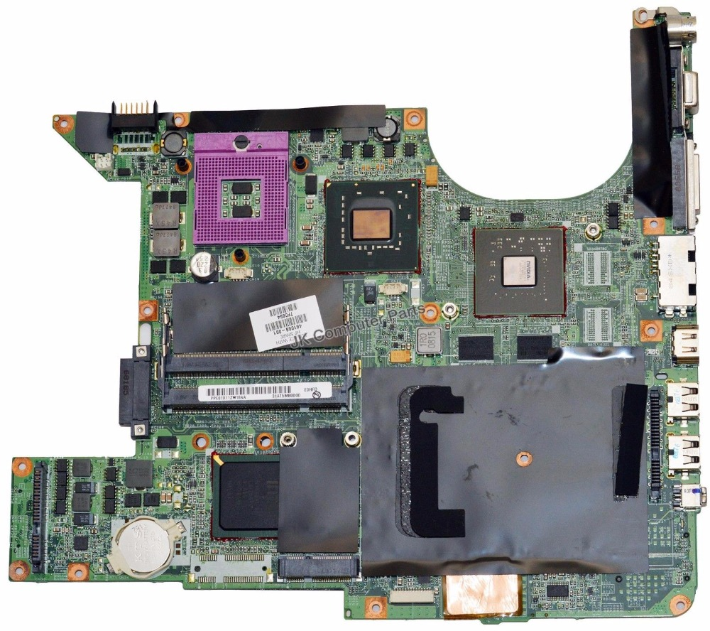 447982-001 FOR HP Pavilion dv9000 DV9500 DV9700 Laptop Motherboard 965 PM 461068-001 100% TESTED GOOD Free Shipping(China (Mainland))