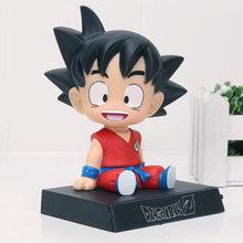 Bobble Head figura brinquedo Dragon Ball Z Son Goku Kuririn Super Mario The Avengers Super Hero Pesadelo Antes Do Natal Jack brinquedos(China)