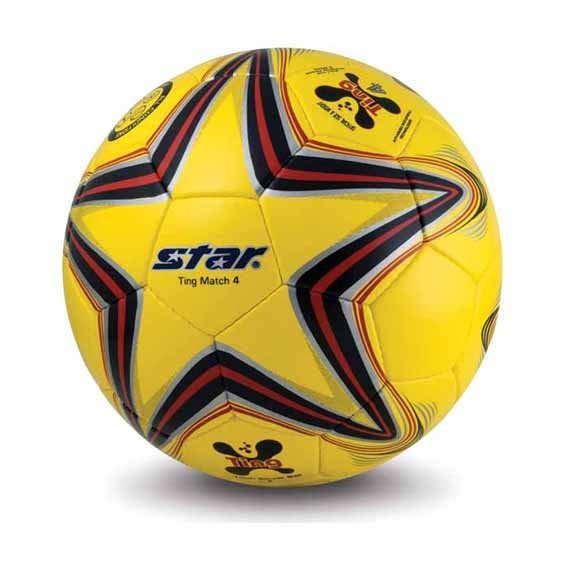 Free shipping! High quality Teenager Match use Star Soccer Ball/Football Size 4 SB3134-05 Ting Gift: gas pin & net bag