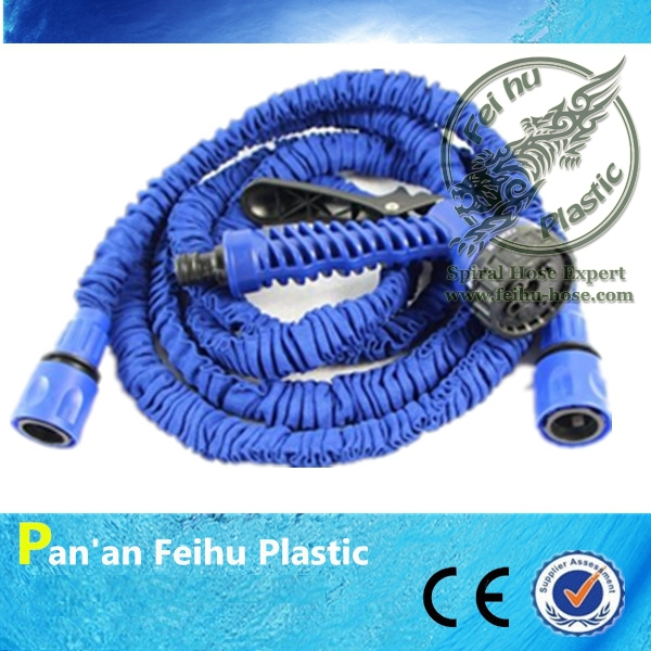 [CE &SGS ] 100ft Eco-friendly Expandable Garden Hose to Watering, Manguera Extensible Garden Water Hose Reels+Garden Sprinkler(China (Mainland))