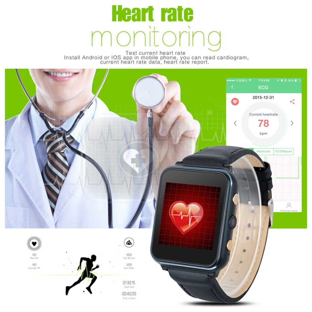 Diggro i400 Smart Watch GSM Phone Watch with Camera Heart Rate Call Reminder Activity Tracker Sleep Monitor for Android IOS(China (Mainland))