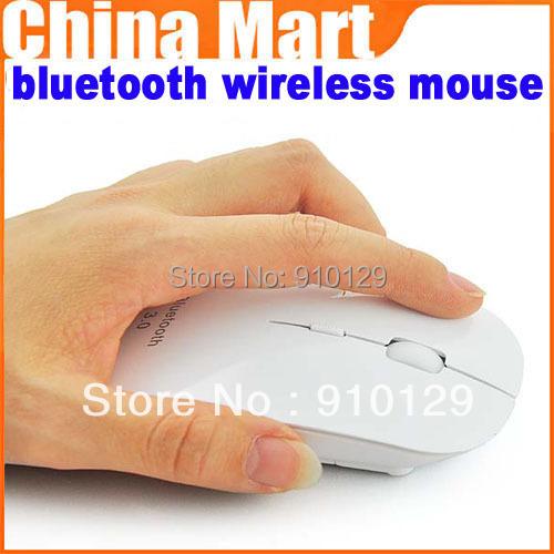 Hot saling bluetooth wireless mouse for apple Macbook iMac Win 7 vista XP laptop PC,free shipping(China (Mainland))