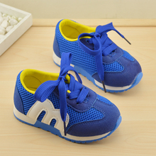 New Children Shoes Girls Boys Sport Shoes Antislip Soft Bottom Kids Fashion Sneaker Comfortable Breathable Mesh(Baby/Little Kid)(China (Mainland))