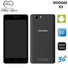 Original Doogee X5 X5 Pro Android 5.1 5.0″ HD 1280*720 Quad Core Cell Phone 1GB/2GB RAM+8GB/16GB ROM 5.0MP 2400mAh mobile phone