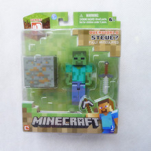 Minecraft Overworld Zombie Series 1 By Jazwares Toy & Games Action Figure New in Box