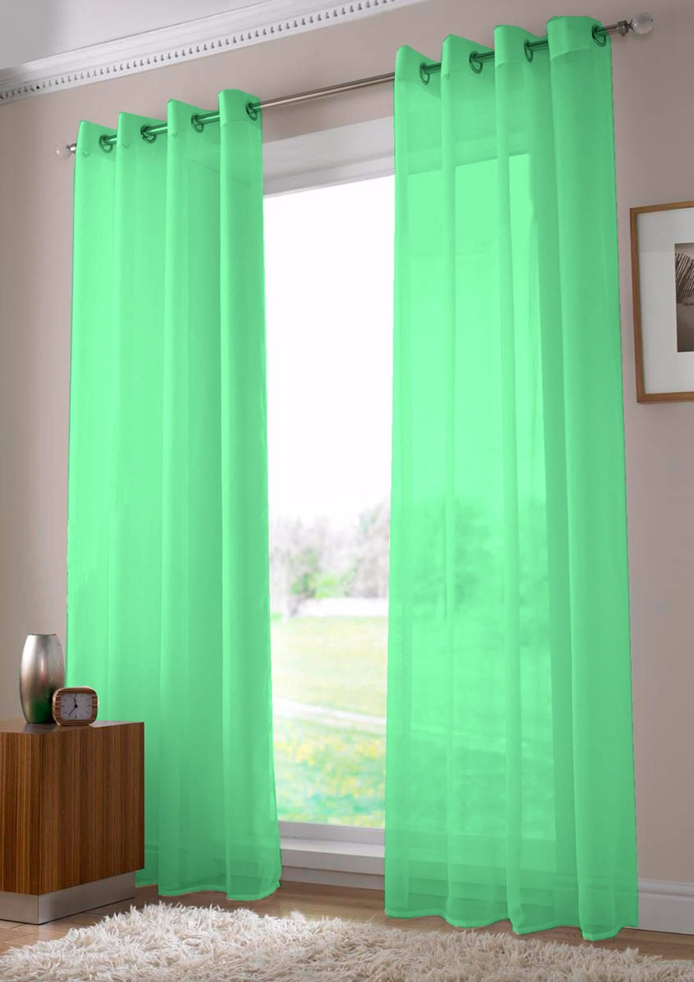 Curtains ideas teal sheer curtain panels inspiring for Sheer panel curtain ideas