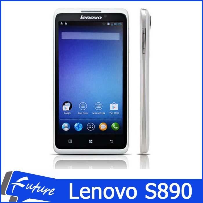 Original Lenovo S890 Dual Core Dual SIM 5 Inch IPS 960x540 Android Smartphone 1G RAM 4GB ROM GPS WIFI 3G WCDMA Multi Language(China (Mainland))