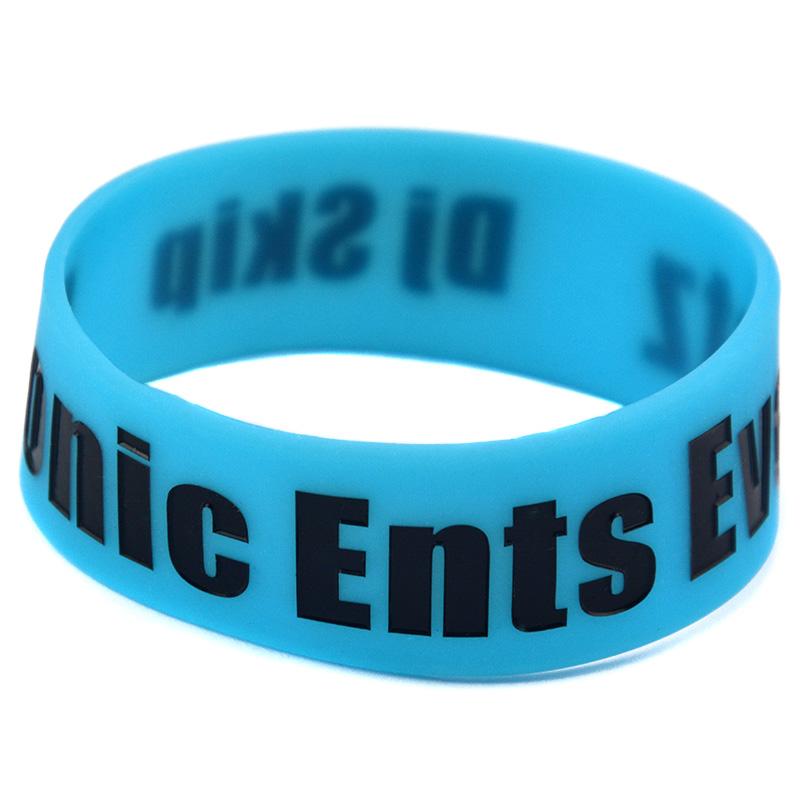 Custom design Wristband, Silicon Bracelet, Debossed logo, MOQ: 100PCS/lot<br><br>Aliexpress