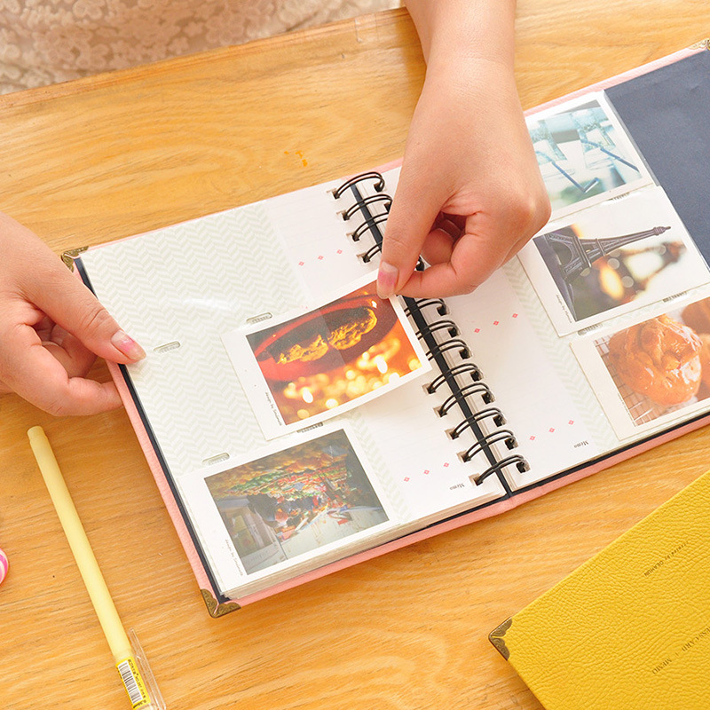 120 Pockets 3 Inch Instant Photo Card Book Memoirs for Fujifilm Instax Mini 7s 8 Film Camera Accessories Universal Card Package