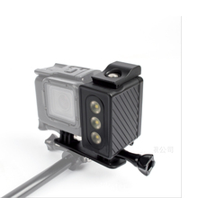 Buy Gopro Hero 5 4 3+ 3 Underwater photography Diving lights new style waterproof fill LED light xiao yi sports camera for $40.65 in AliExpress store