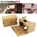 2016 Google Cardboard 2 0 VR BOX Headset ii kit DIY 3D MAX Glasses Virtual Reality
