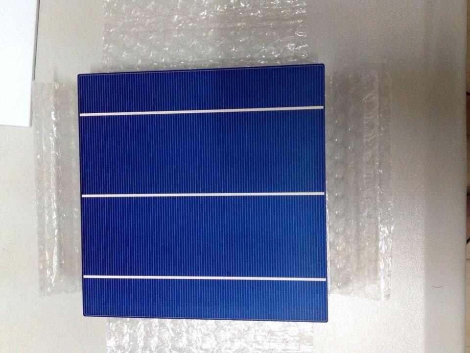 Энергия солнечной сразу 2016 продвижение 100 шт. высокая эффективность 4.28 Вт поли солнечной 6 x 6 для мастеров поликристаллических солнечных панелей, Бесплатная доставка