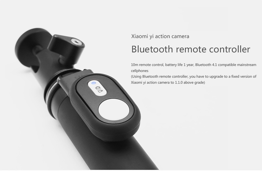image for IN STOCK! 100% Original Xiaomi Yi Camera Bluetooth Remote Controller,