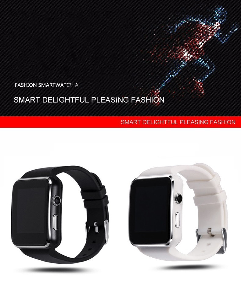 Curved Screen Bluetooth Smart Watch Clock Smartwatch Fashion Watch For Android Phone With Camera Support SIM Card Wristwatch