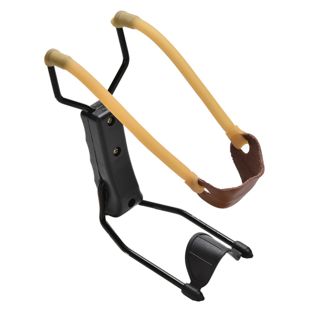 1Pcs New Folding Wrist Brace Sling Shot Slingshot High Velocity Hunting Catapult Outdoor Powerful Tool Wrist-lock Wholesale(China (Mainland))