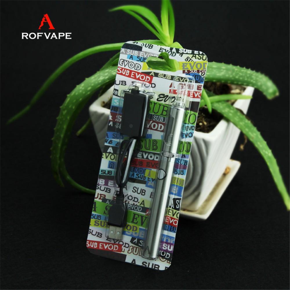 ถูก ROFVAPE Aย่อยEvodชุดบุหรี่อิเล็กทรอนิกส์1.6มิลลิลิตร0.5ohm 900มิลลิแอมป์ชั่วโมงสแตนเลสมอระกู่ปากกาVapeปากกาแบรนด์Evodบุหรี่