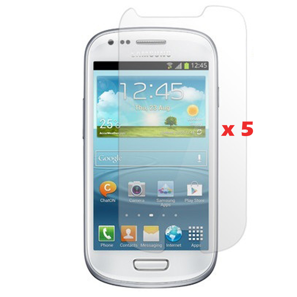 Clear S3 Mini Screen Protector Samsung i8190 Protective Film Hight Quanlity Without Retail Package  -  Sunseai Official Store store