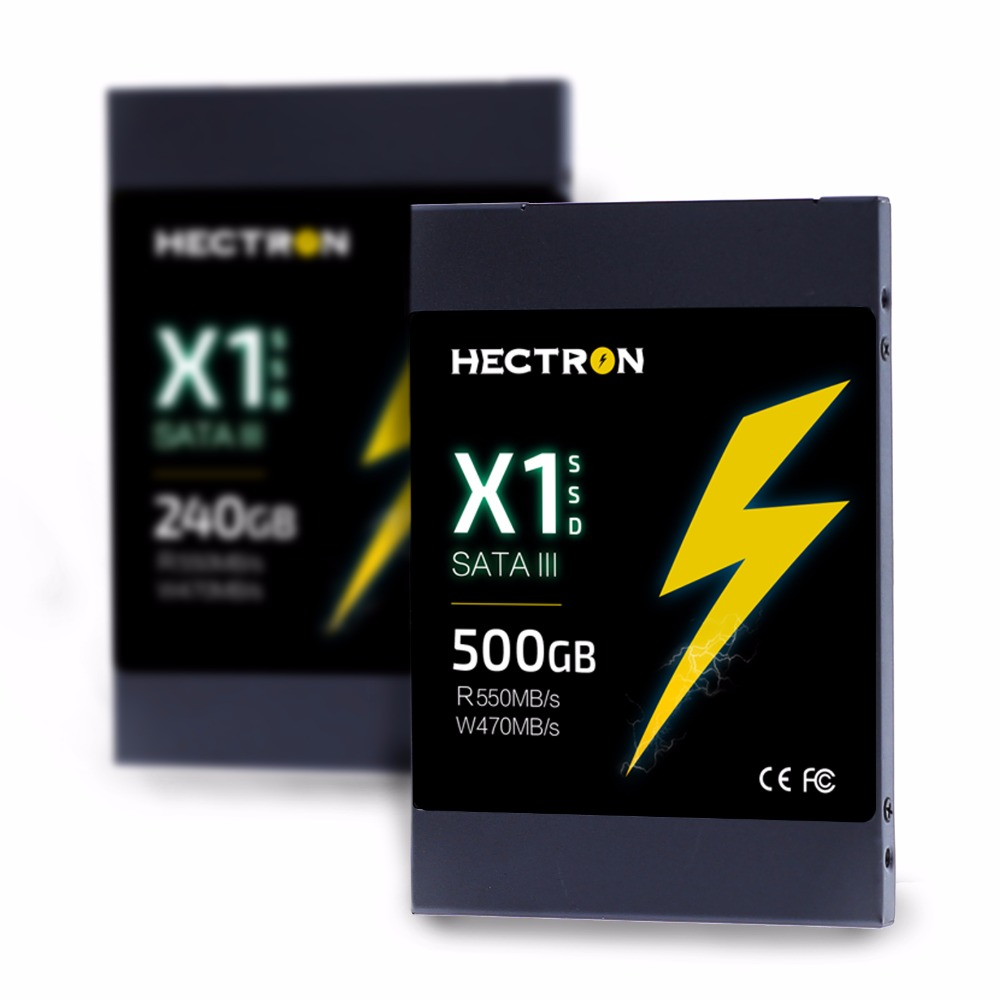 """Hectron X1 SSD 500GB 2.5"""" SATAIII Hynix MLC SSD Solid State Drive for Desktop Laptop Read Speed 500MB/s Brand New Promotion(China (Mainland))"""