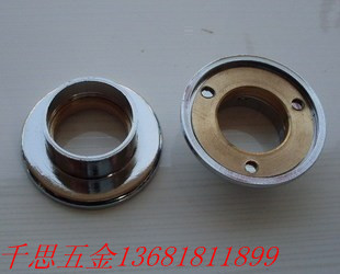 Copper bottom stainless steel pipe flange seat closet rod tube 19mm towel - mohongying store