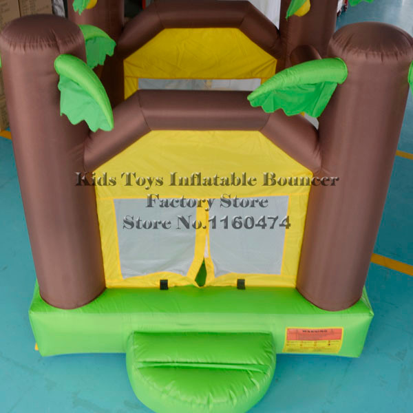 Worldwide DHL FREE Shipping Mini Bouncy Castle ,Inflatable Trampoline Home Use ,Kids PARTY GIFT(China (Mainland))