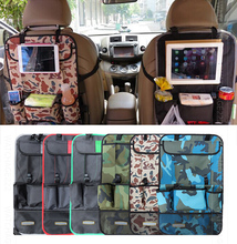 CAR REAR SEAT BACK ORGANIZER PAD PHONE HOLDER STORAGE BAG HANGER NET TRUCK MESH TRAVEL POCKET Accessories(China (Mainland))