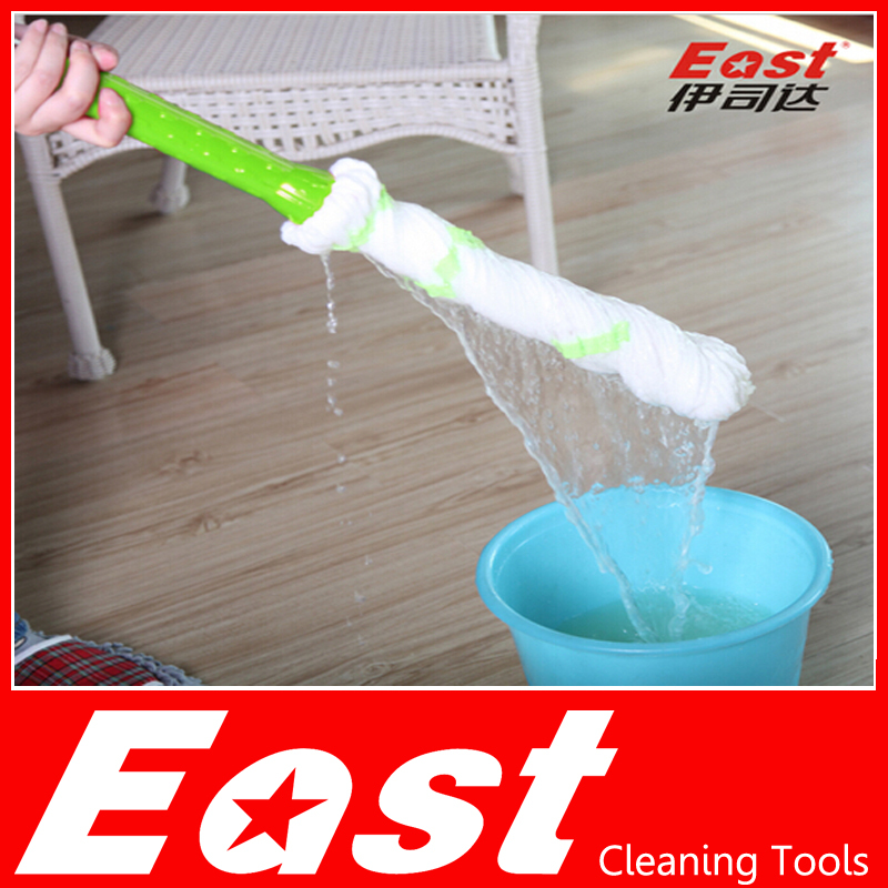 EAST cleaning tools Rotary Spin Twist Rotating Mop with microfiber head for housekeeper cleaning home floor(China (Mainland))
